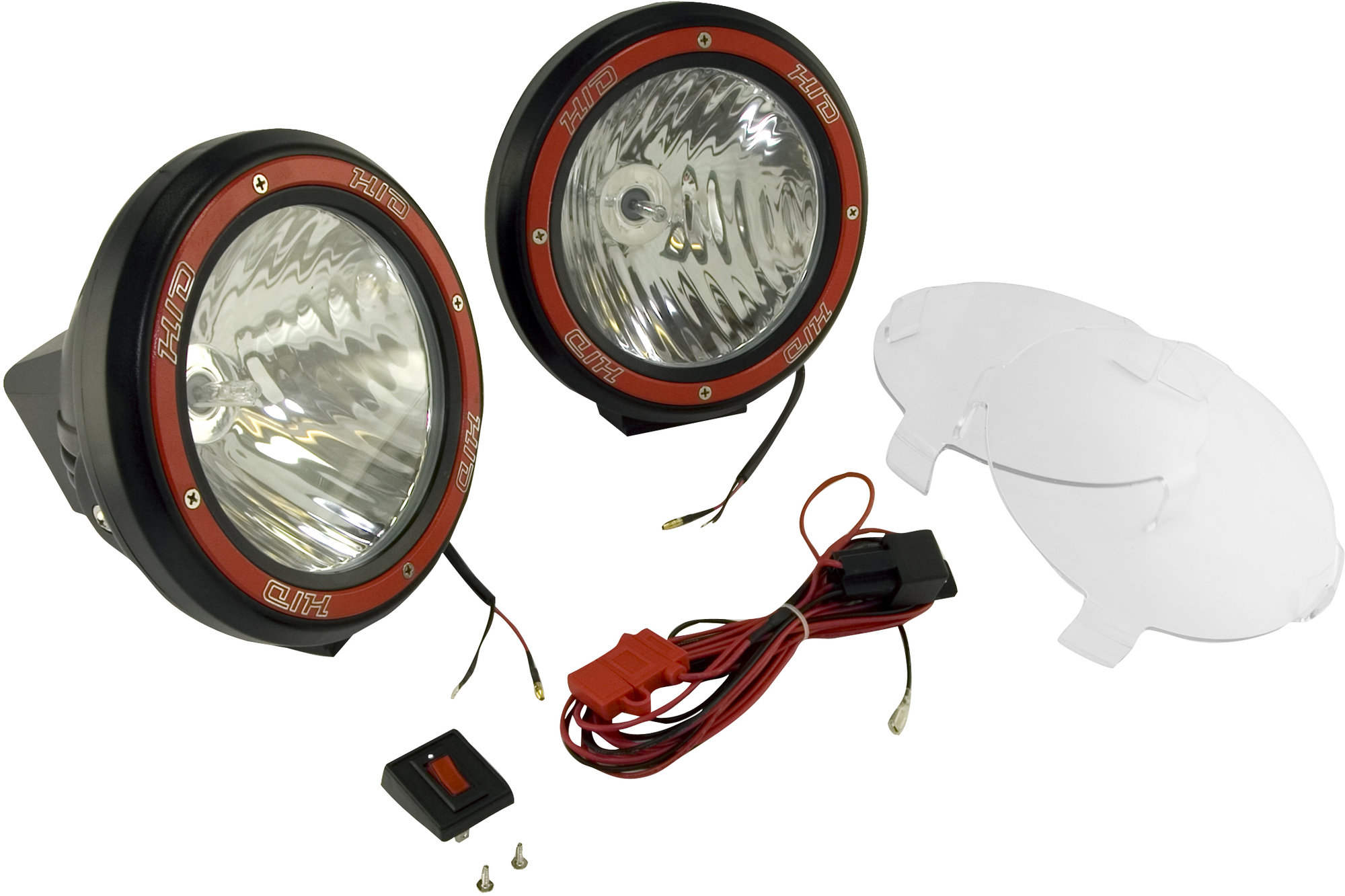 hight resolution of  off road light pair in black with wiring harness the quadratec difference