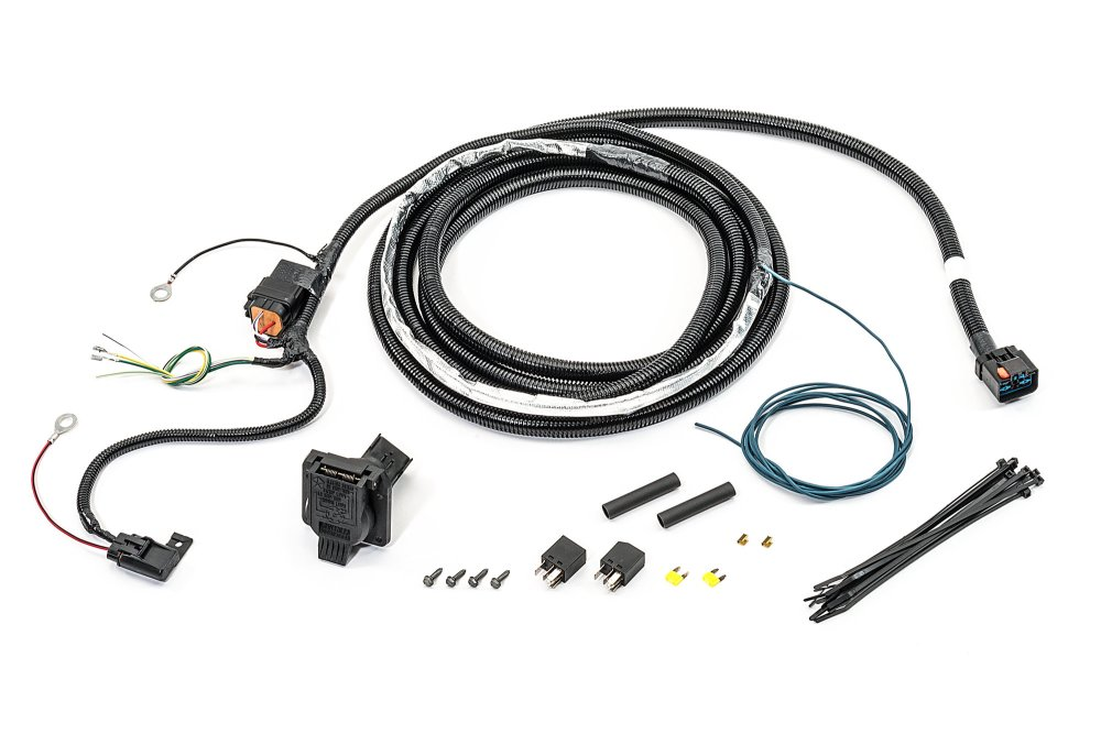 medium resolution of mopar 82211150ac 7 way round hitch wiring harness for 07 09 jeep grand cherokee wk previous next