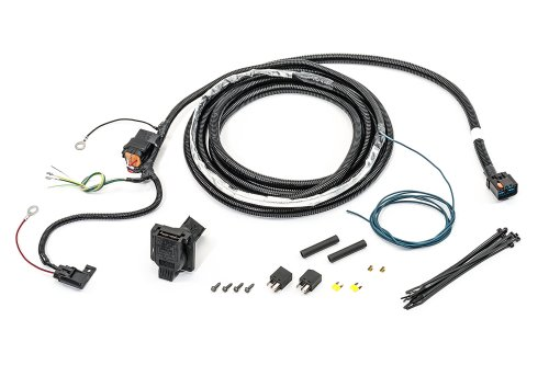 small resolution of mopar 82211150ac 7 way round hitch wiring harness for 07 09 jeep grand cherokee wk previous next
