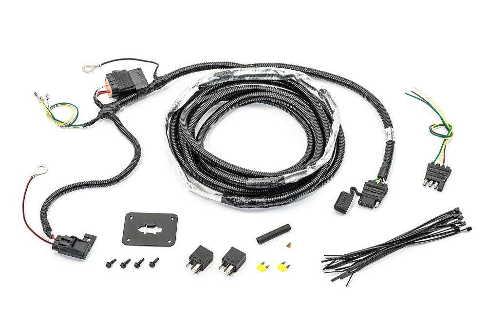 medium resolution of mopar 82211149ad 4 way flat hitch wiring harness for 07 09 jeep grand cherokee wk quadratec