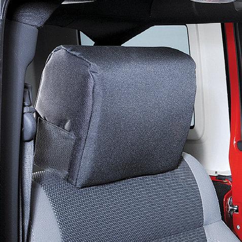 Misch 4X4 JKHP Headrest Pad for 0710 Jeep Wrangler JK