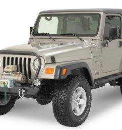 rock hard 4x4 rh4001 rock hard front bumper for 76 06 jeep cj wrangler yj tj unlimited quadratec [ 2000 x 1328 Pixel ]