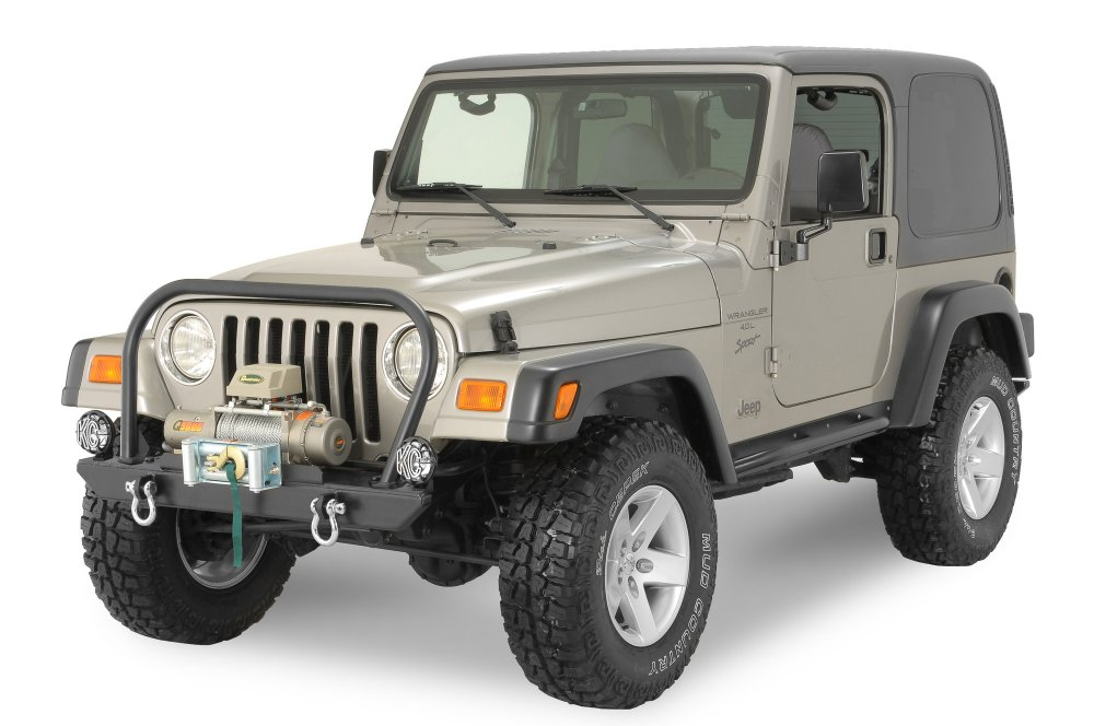 medium resolution of rock hard 4x4 rh4001 rock hard front bumper for 76 06 jeep cj wrangler yj tj unlimited quadratec