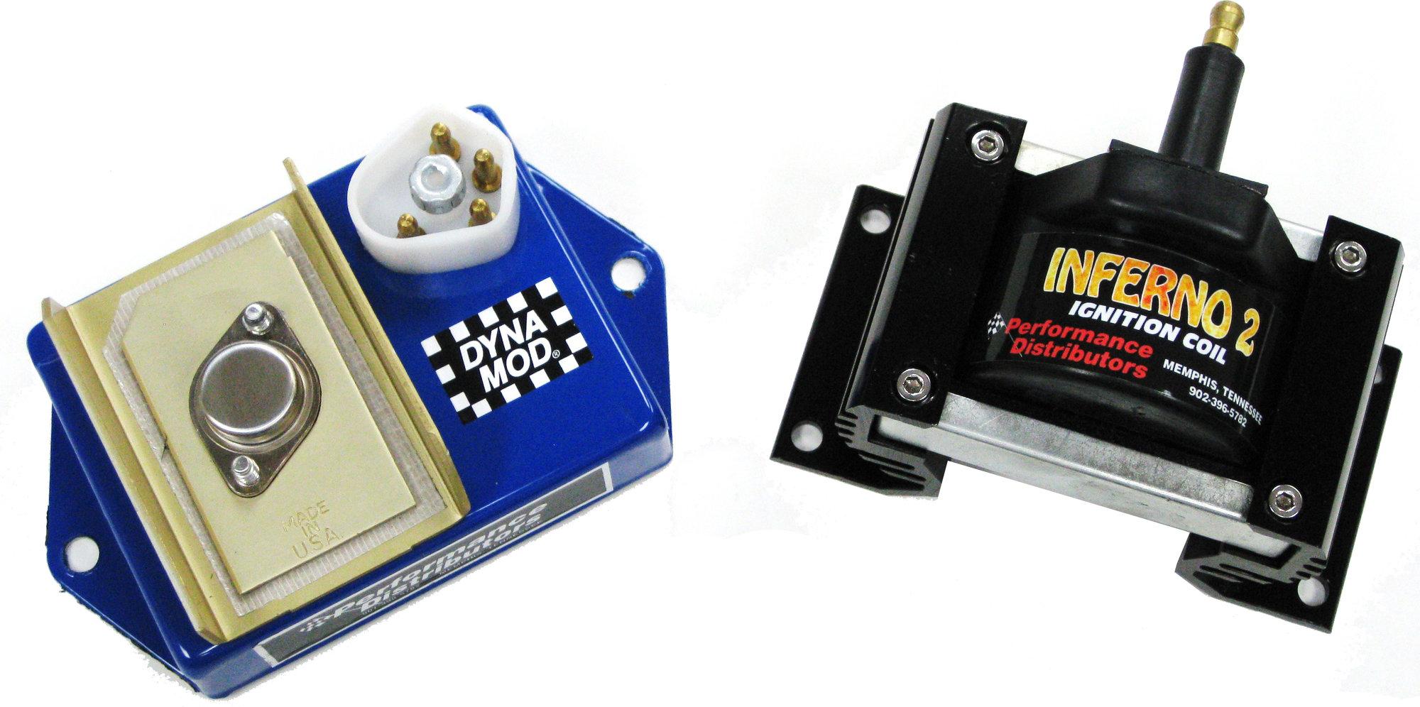 ford duraspark ignition 2000 pontiac grand am gt wiring diagram performance distributors 31721 dyna module and inferno 2