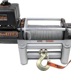Mile Marker 8000 Winch Wiring Diagram 2000 Subaru Exhaust 77 50141 Sec8 Electric Quadratec