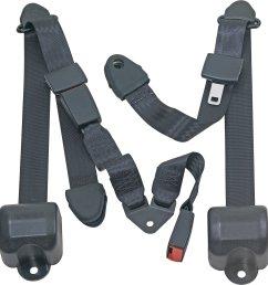 seatbelt solutions rear push button 3 point retractable belts for 97 06 jeep wrangler tj unlimited [ 1905 x 2000 Pixel ]