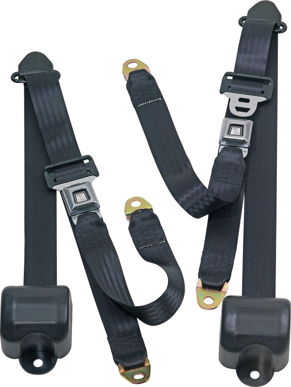 medium resolution of seatbelt solutions front metal push button 3 point retractable belts for 82 91 jeep cj 5 cj 7 cj 8 scrambler wrangler yj
