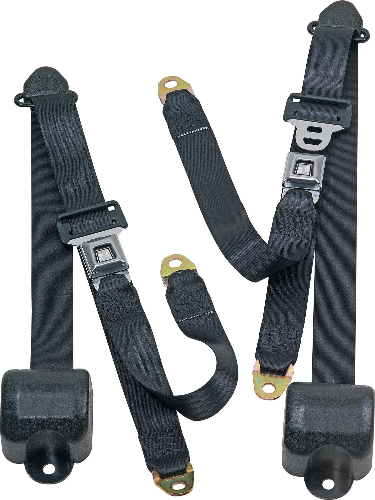 hight resolution of seatbelt solutions front metal push button 3 point retractable belts for 82 91 jeep cj 5 cj 7 cj 8 scrambler wrangler yj