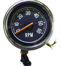 crown automotive j5459418 tachometer for 76 86 jeep cj series [ 1804 x 1999 Pixel ]