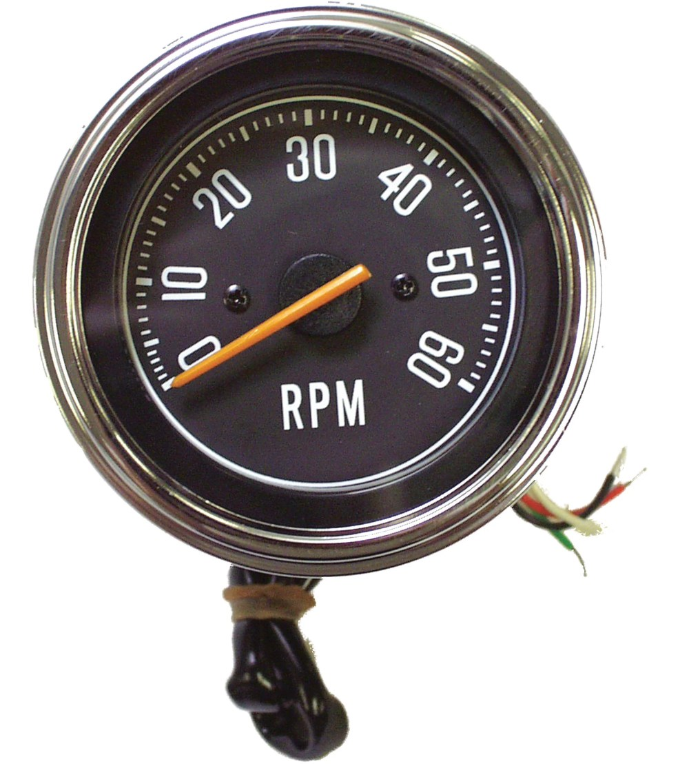 medium resolution of crown automotive j5459418 tachometer for 76 86 jeep cj series