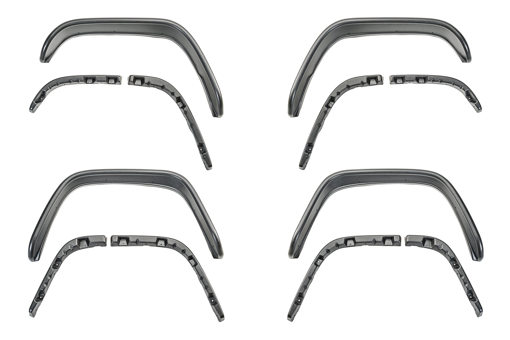 Bushwacker 10922-07 Flat Style Flares for 84-01 Jeep