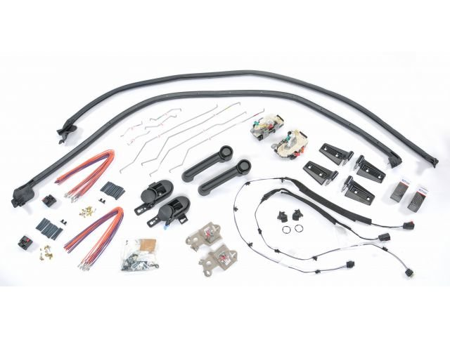 Mopar Front Half Steel Door Kit for 07-18 Jeep Wrangler