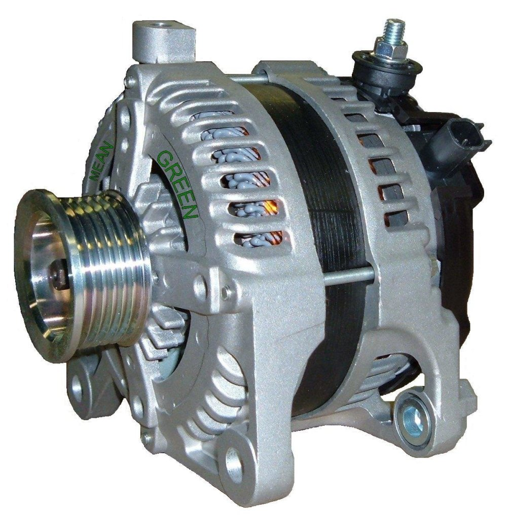 medium resolution of mean green mg1388 alternator for 07 11 jeep wrangler wrangler unlimited with 3 8l quadratec