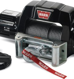 warn 97550 9 5cti contactor equipped winch with 125 wire rope and roller fairlead quadratec [ 1630 x 1163 Pixel ]