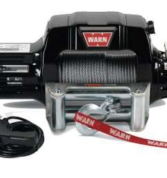 warn 97550 9 5cti contactor equipped winch with 125 wire rope and roller fairlead quadratec [ 2000 x 1293 Pixel ]
