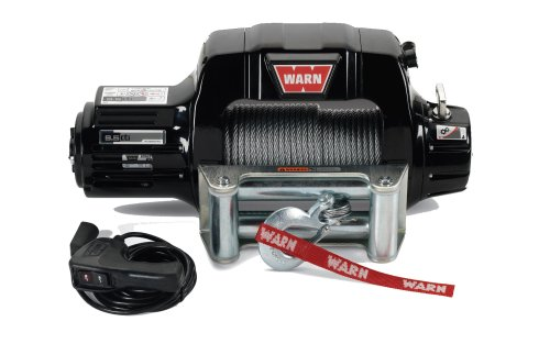 small resolution of warn 97550 9 5cti contactor equipped winch with 125 wire rope and roller fairlead quadratec