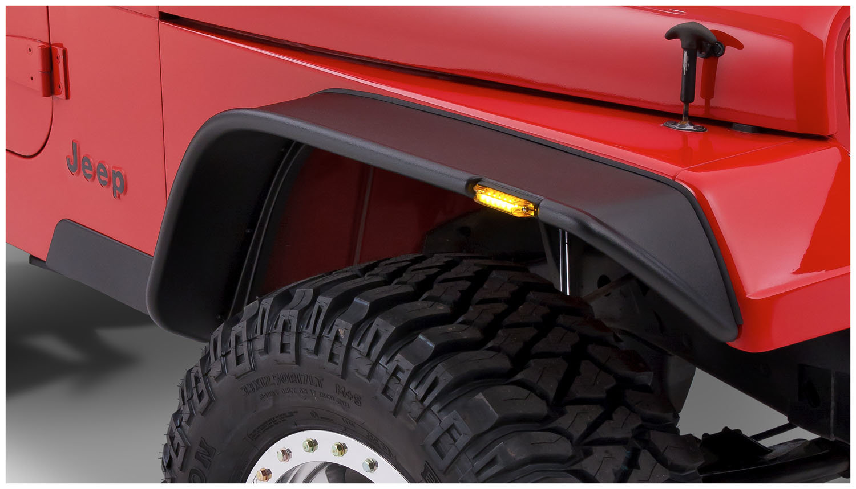 2010 Jeep Wrangler Fender Flares