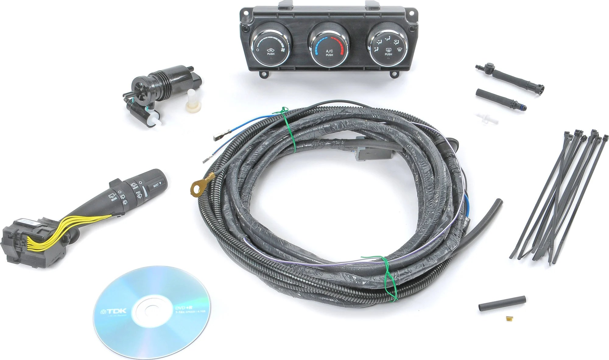 hight resolution of  154368 mopar hardtop wiring kit for 11 16 jeep wrangler wrangler