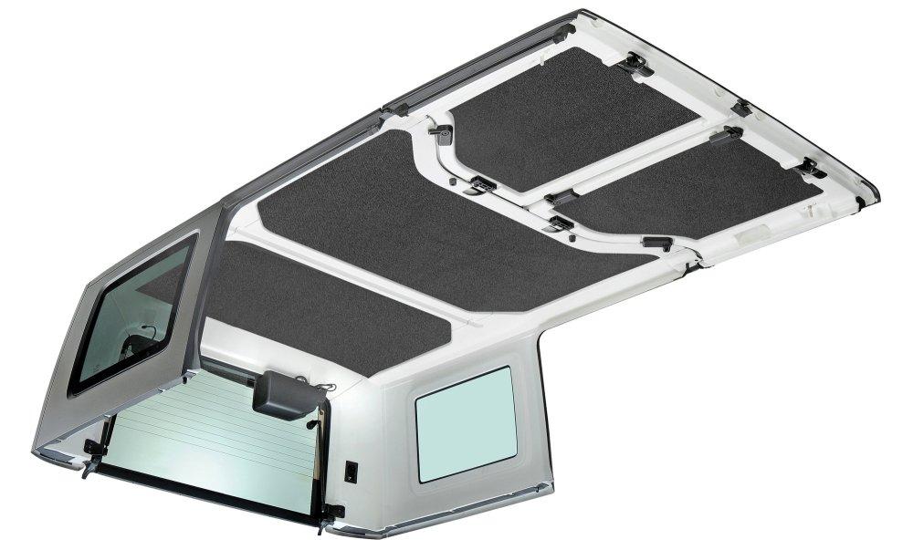 medium resolution of boom mat hardtop sound deadening headliner for 11 18 jeep wrangler unlimited jk 4 door quadratec