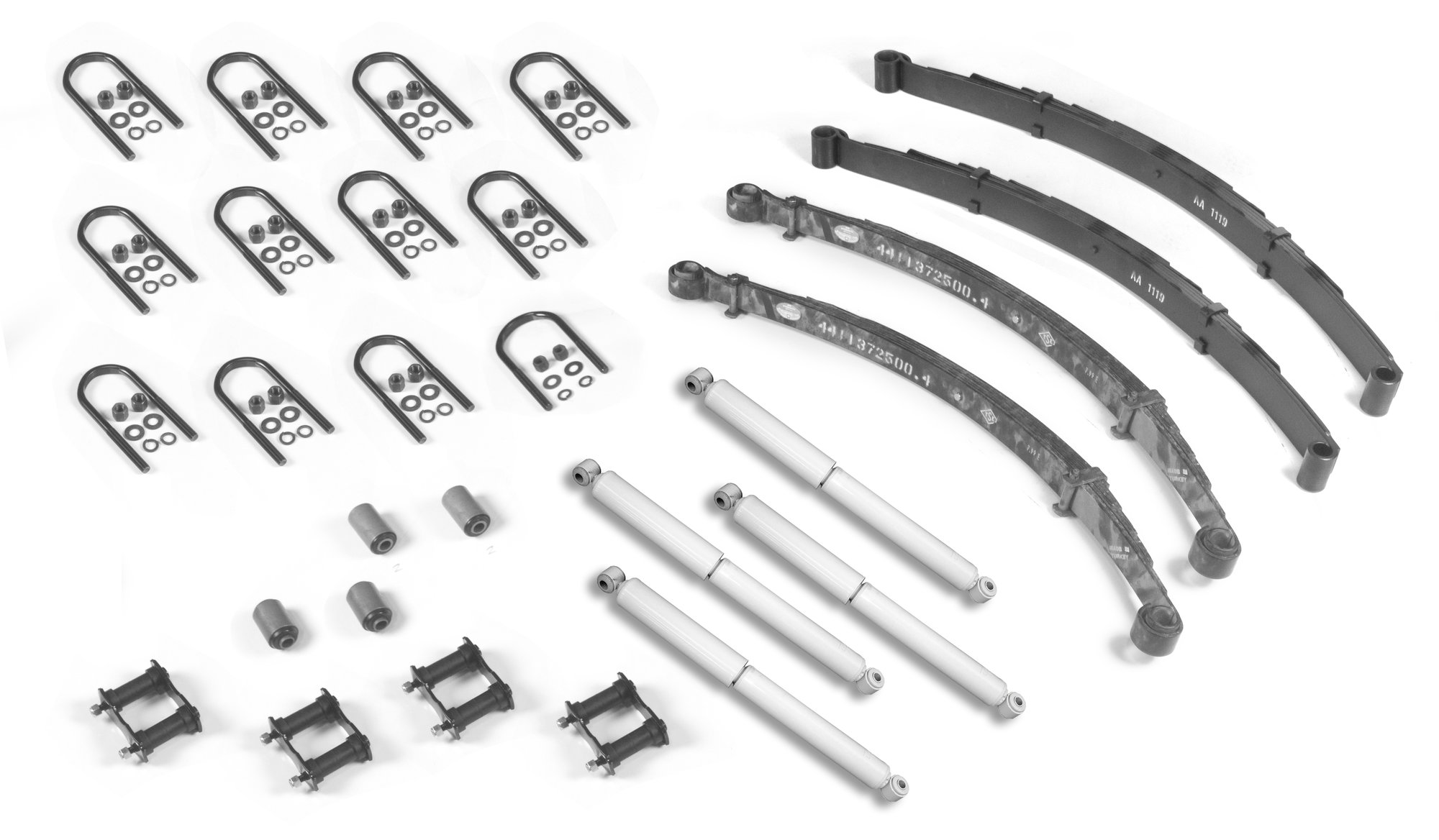 OMIX-ADA 18290.04 Master Suspension Rebuilder Kit for 76