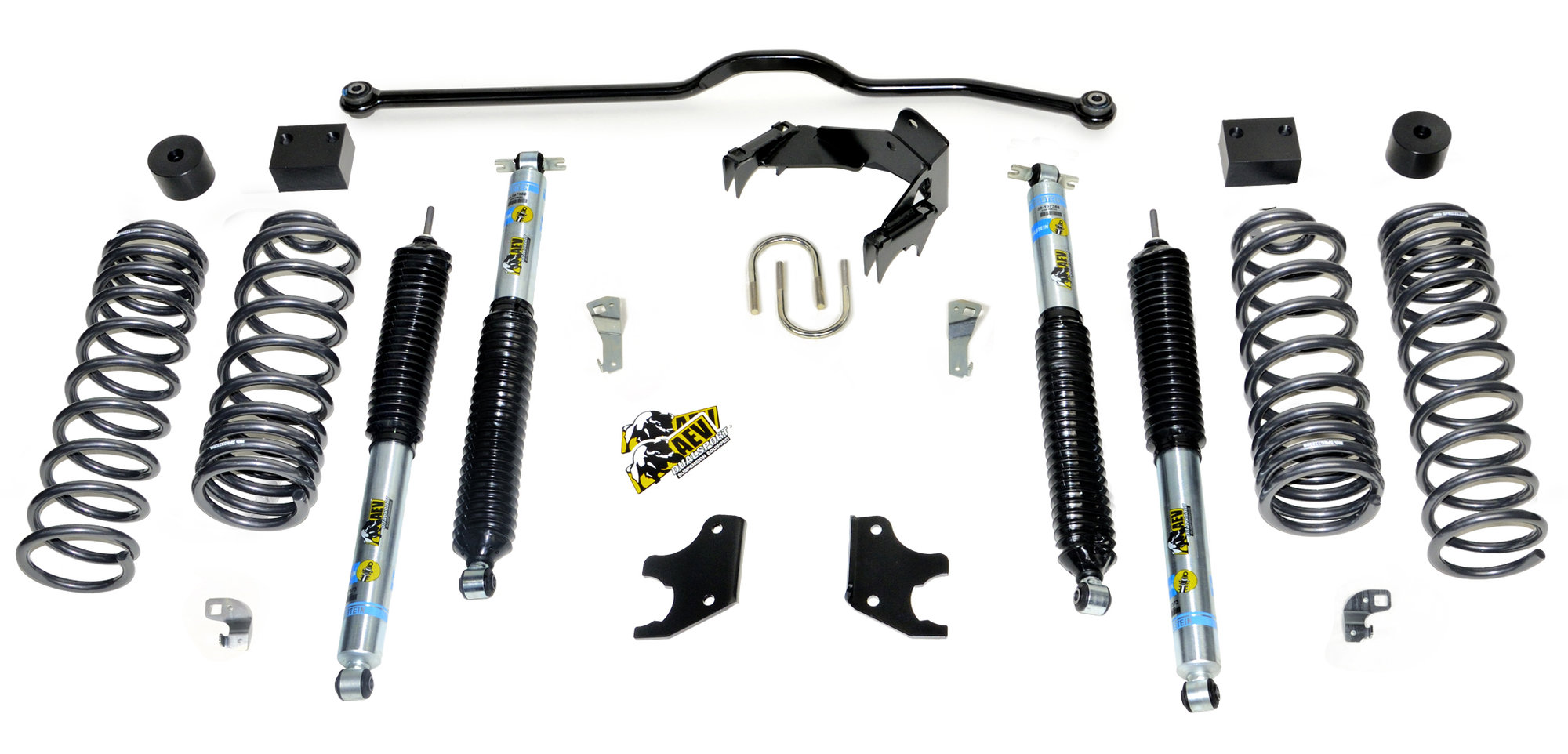 Aev 2 5 Dualsport Xt Suspension System For 07 18 Jeep