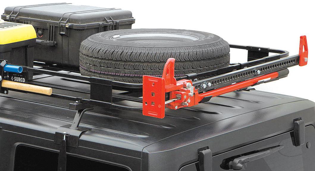 Surco ST100 Spare Tire Adapter for Safari Rack
