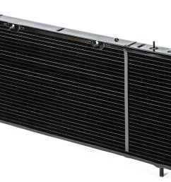 csf 2670 oe replacement radiator with metal tank aluminum core oil cooler for 91 01 jeep cherokee xj with 2 5l 4 0l quadratec [ 2000 x 1137 Pixel ]