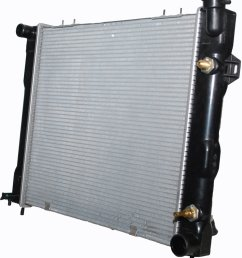 csf 3249 oe replacement radiator with plastic tank aluminum core for 93 98 jeep grand cherokee zj with 5 2l quadratec [ 954 x 1047 Pixel ]