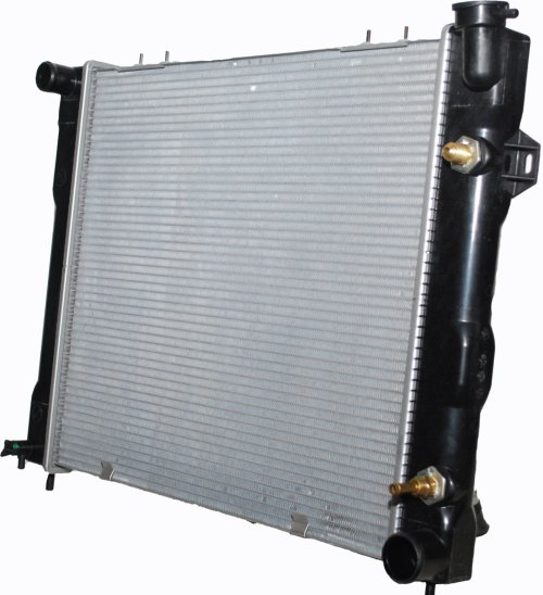small resolution of csf 3249 oe replacement radiator with plastic tank aluminum core for 93 98 jeep grand cherokee zj with 5 2l quadratec