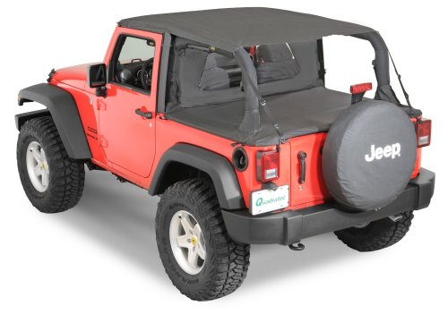 small resolution of quadratop bimini top plus clearview windstopper tonno cover combo in black diamond for 07 18 jeep wrangler jk 2 door