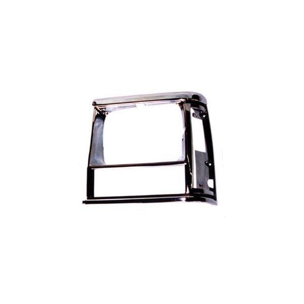 OMIX-ADA 12419.13 Driver Side Headlight Bezel in Black