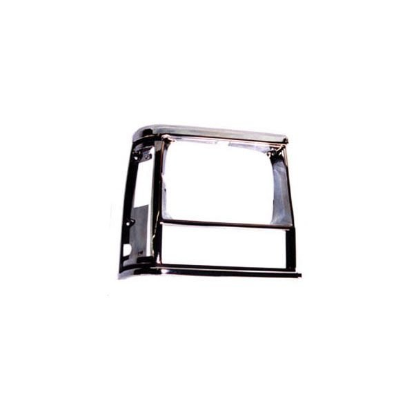 OMIX-ADA 12419.14 Passenger Side Headlight Bezel in Black