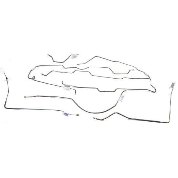 OMIX-ADA 16737.37 Stainless Steel Brake Line Set for 77-80