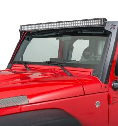 rock slide engineering ac ws 100 jk 50 led light bar mount for 07 further jeep jk 50 led light bar mounts on 50 led light bar wiring [ 2000 x 1335 Pixel ]