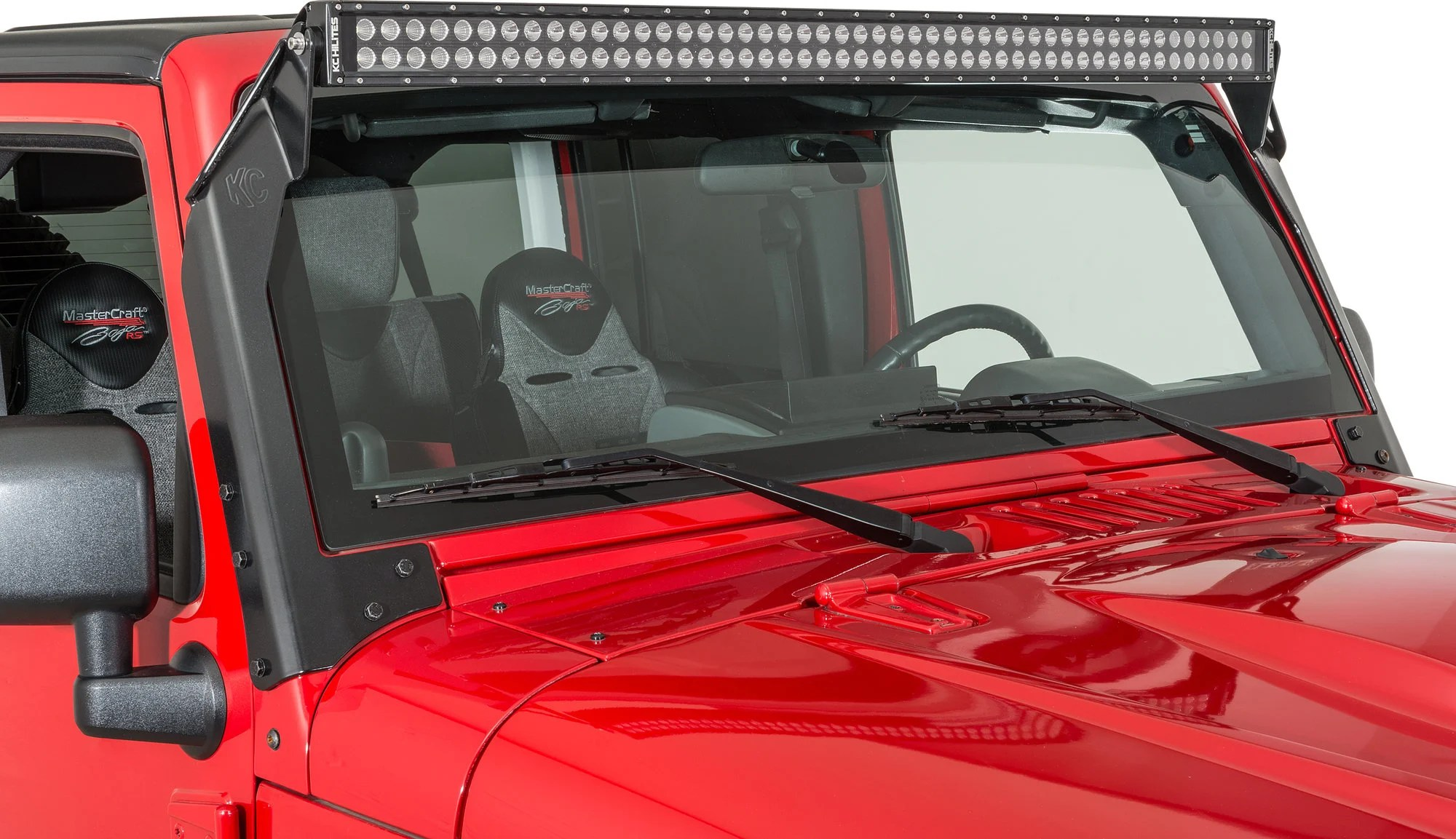 Zj Led Light Bar Mount