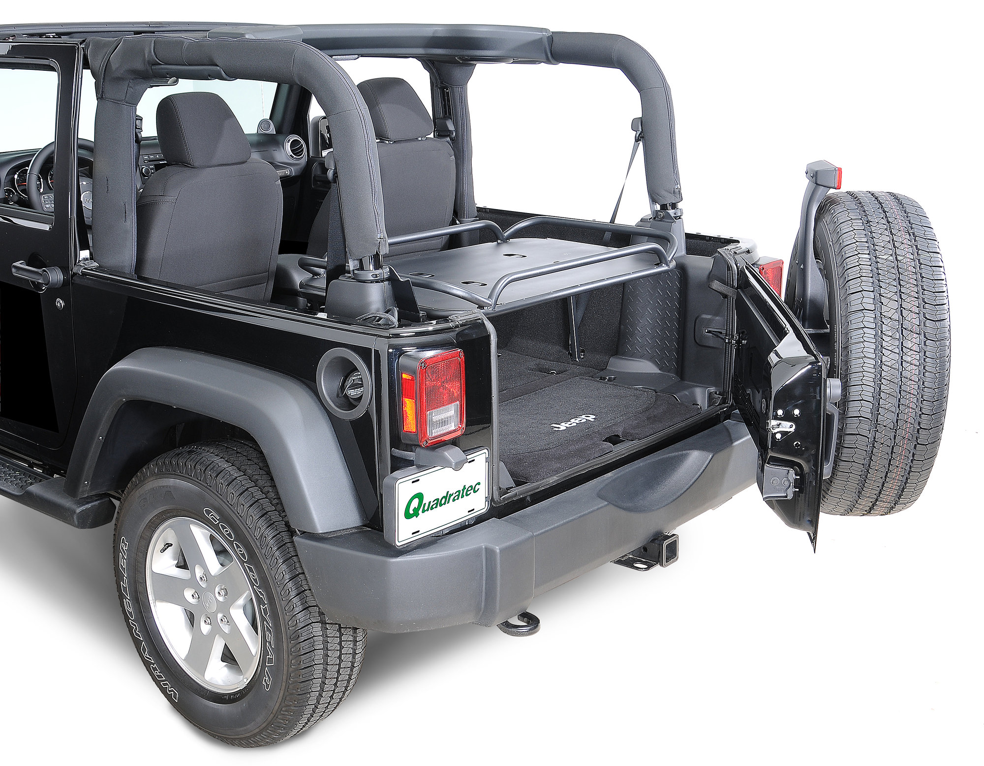 hight resolution of rampage products rear interior sport rack for 07 18 jeep wrangler jk 2 door