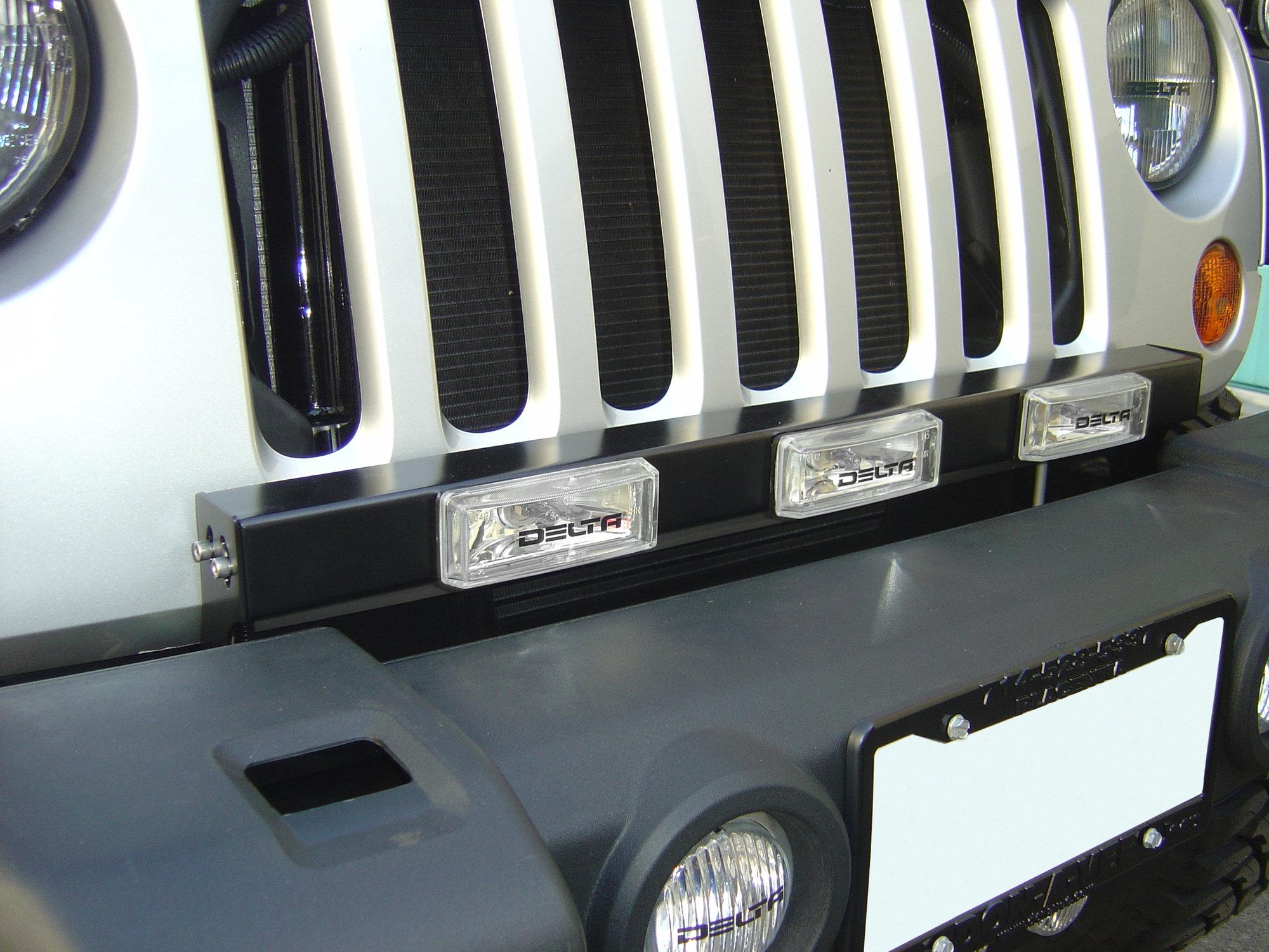 Jeep Cherokee Led Light Bar