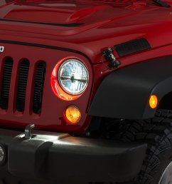 quadratec led headlight upgrade conversion led fog lights kit for 07 18 jeep wrangler jk quadratec [ 2000 x 1559 Pixel ]