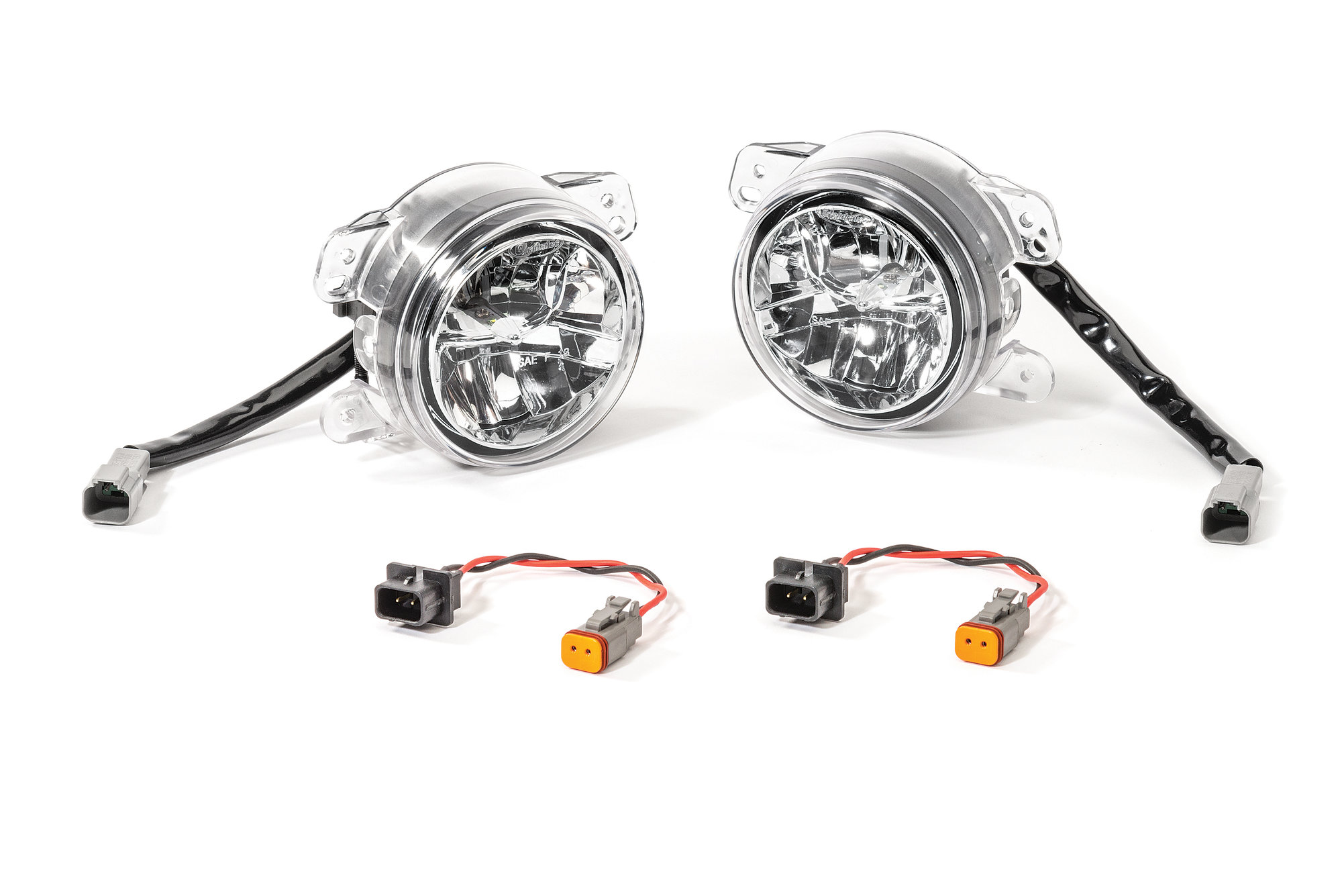 Quadratec Led Fog Lights Kit For 07 17 Jeep Wrangler Jk