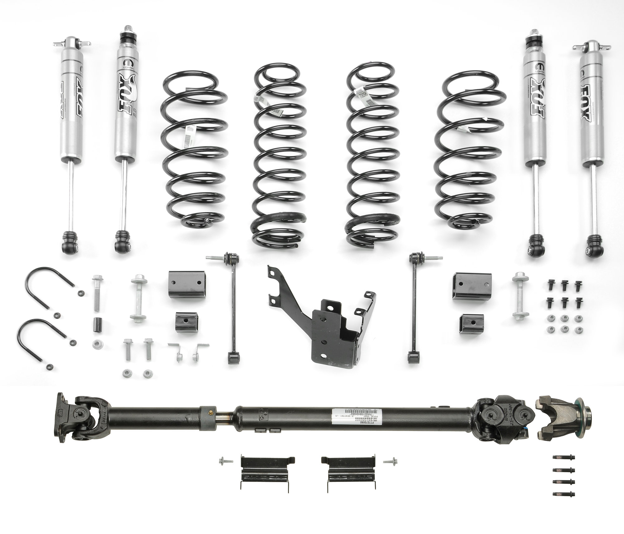 Mopar Stage I 2 Lift Kit With Fox Shocks For 12 18 Jeep Wrangler Jk 2 Door