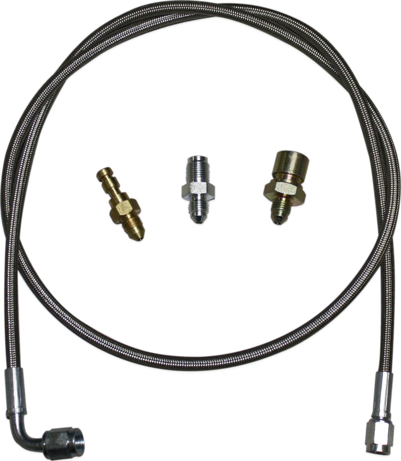 Advance Adapters 716130IR-93 Slave Cylinder Hose Kit for