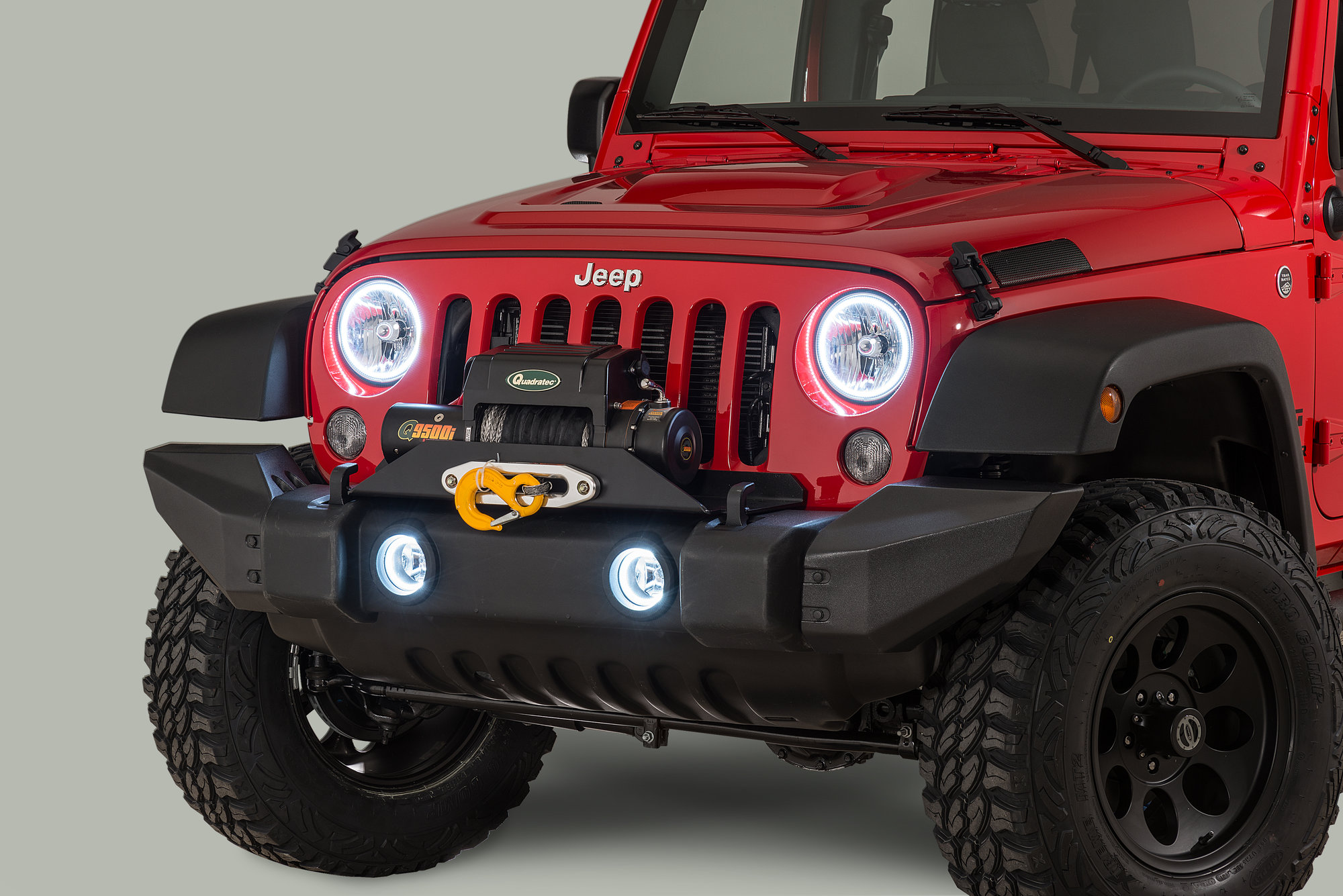 Jeep Commander Headlights