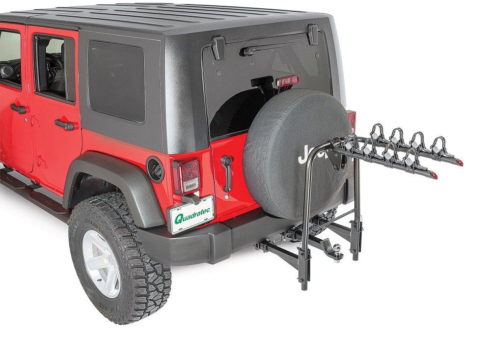 medium resolution of versahitch with bike rack bolt cable lock jeep logo hitch plug wiring kit for 07 18 jeep wrangler jk quadratec