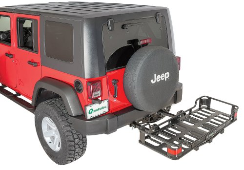 small resolution of versahitch 2 receiver hitch with wiring kit jeep logo plug cargo rack for 07 18 jeep wrangler jk