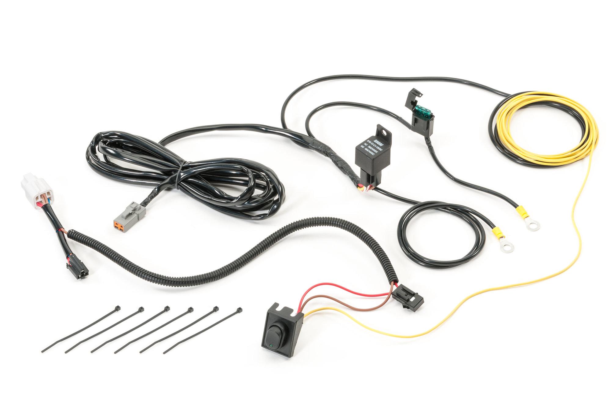 Quadratec 10 Led Light Bar With Wiring Harness