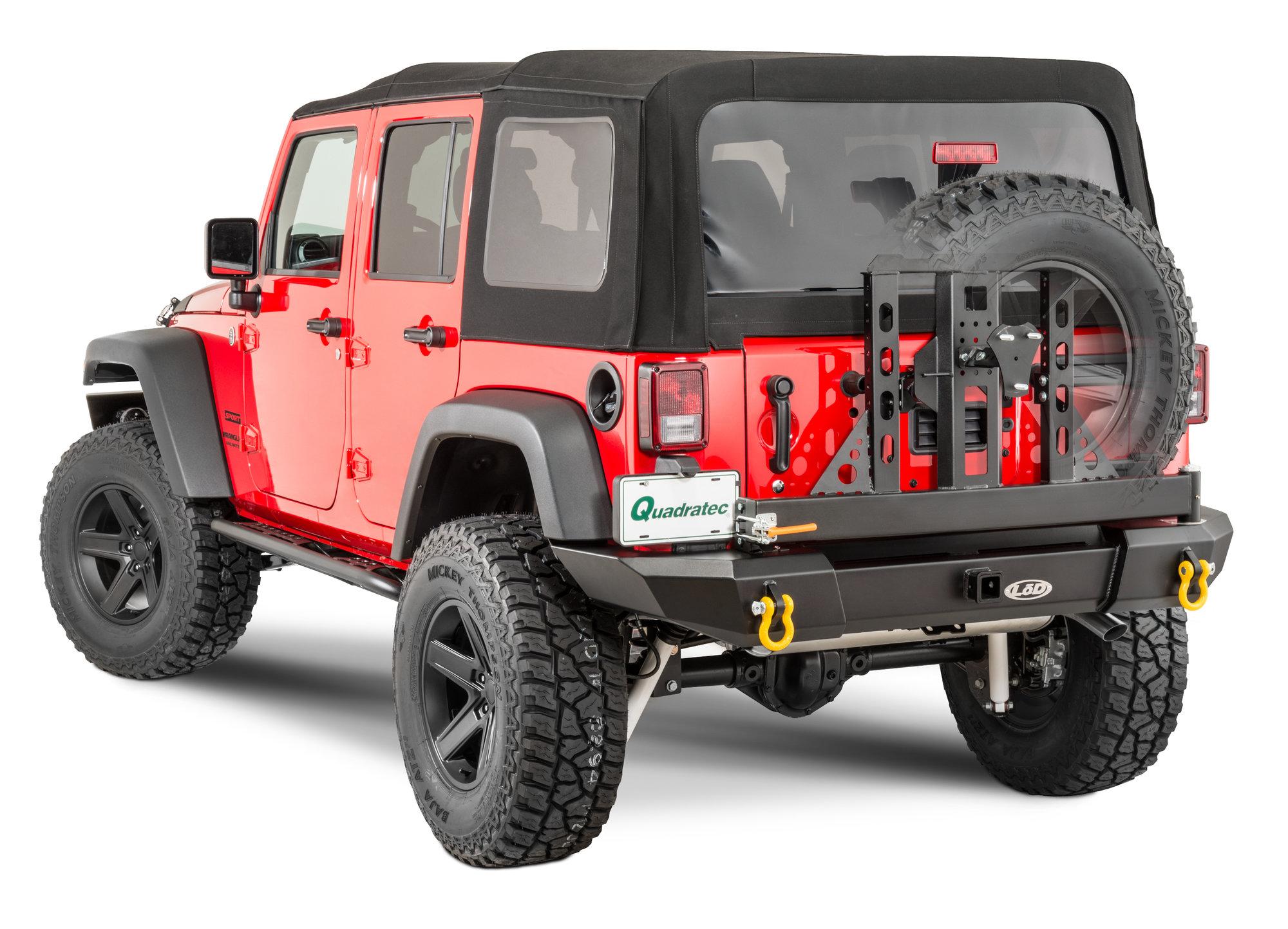 LoD Standard Signature Series Full Width Rear Bumper And