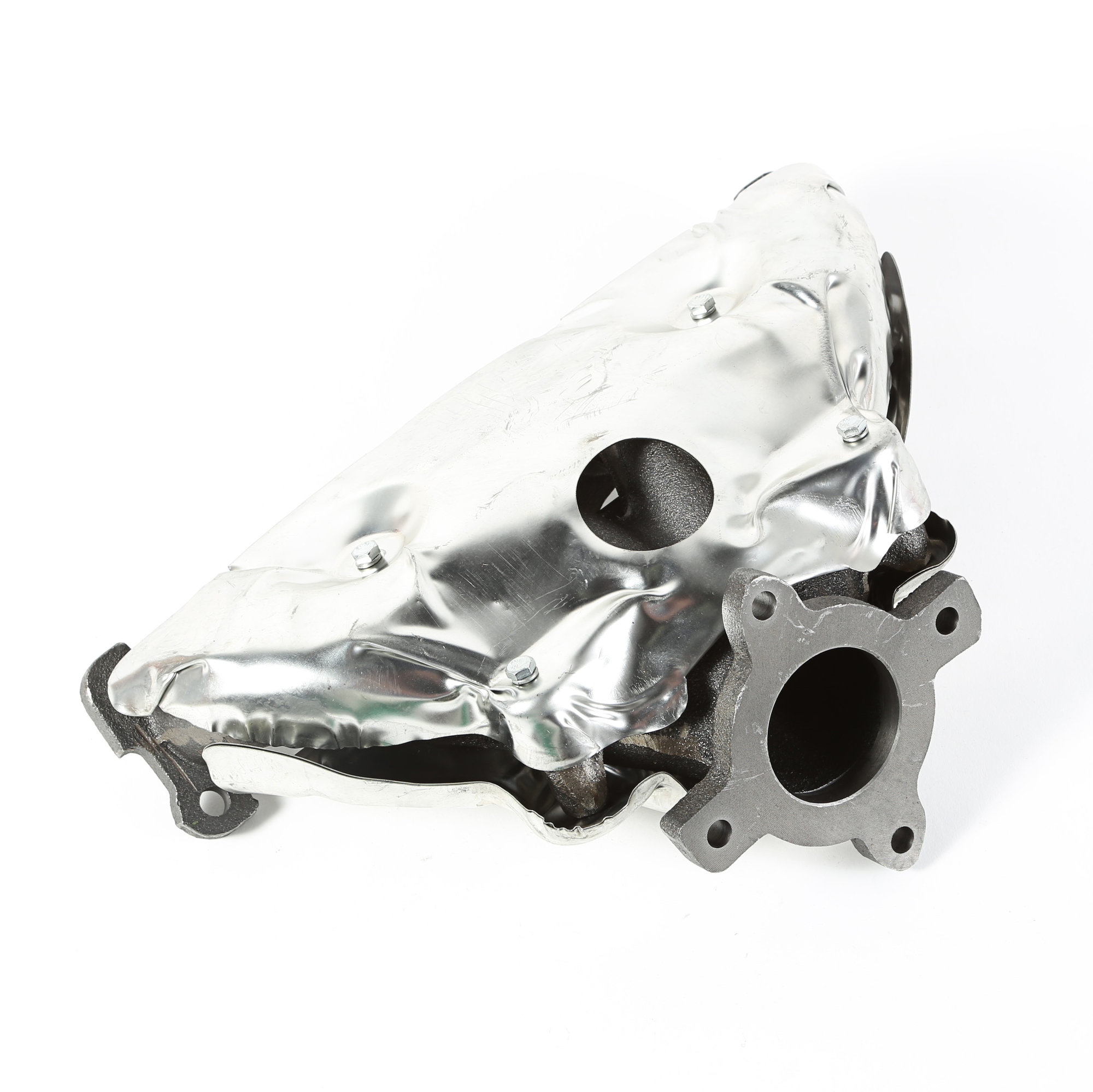 hight resolution of omix ada 17624 17 exhaust manifold for 07 15 jeep compass patriot mk with 2 0 2 4l quadratec