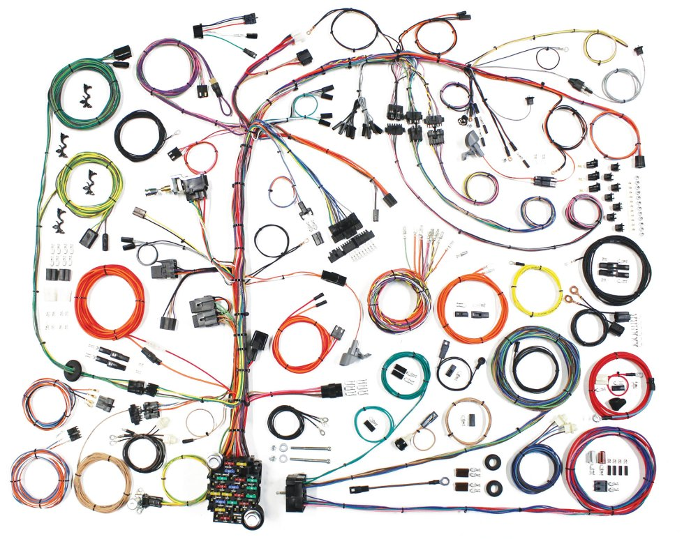 medium resolution of american autowire 510573 american autowire classic update wiringwiring harness for 76 86 jeep cj5 u0026