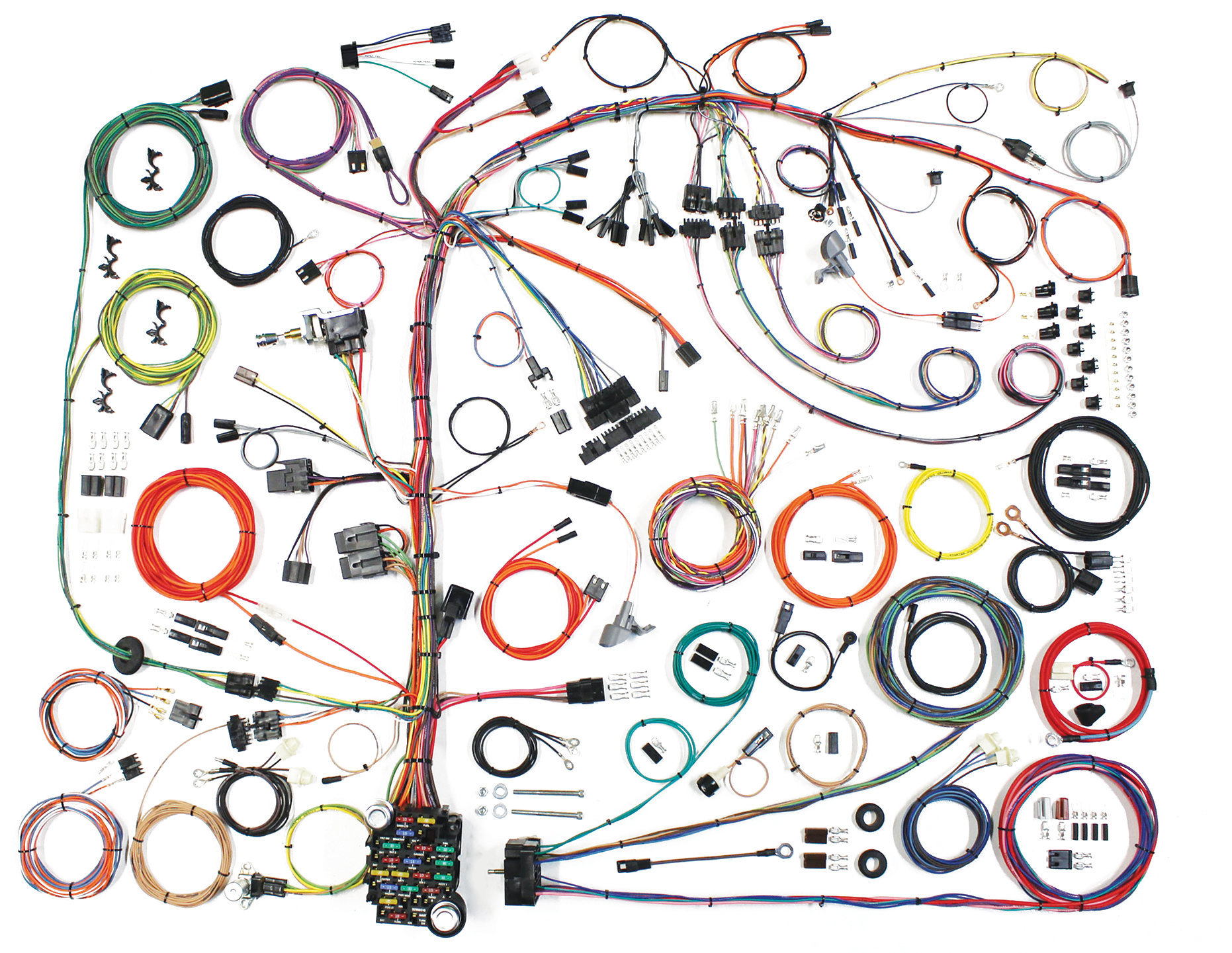 hight resolution of american autowire 510573 american autowire classic update wiringwiring harness for 76 86 jeep cj5 u0026