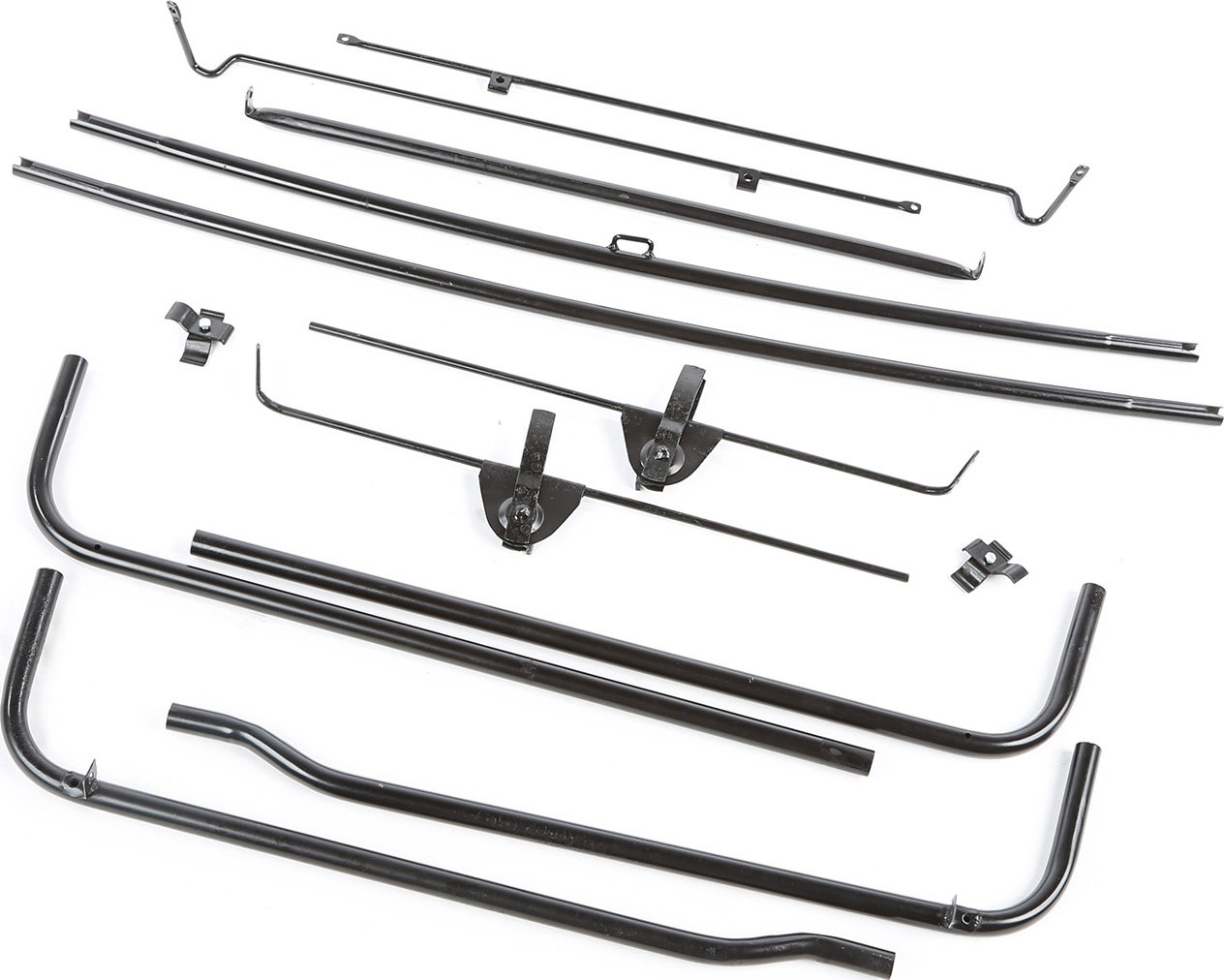 Omix Ada 10 Top Bow Set For 45 49 Jeep Willys Cj 2a
